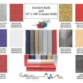 Jeweler's Rolls & Counter Rolls